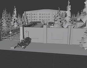 3D printable model MANSION YOUR GRANDFATHERS MANSION