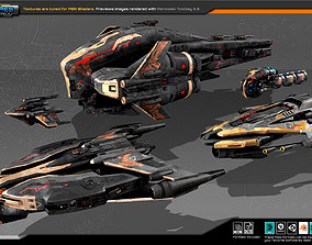 Guardians Fleet 3D model