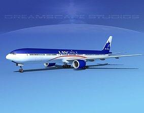 3D Boeing 777-300 MP Lan Chile