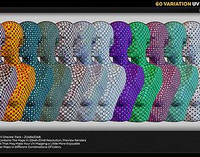 3D 60 Variant UV Checker Pack