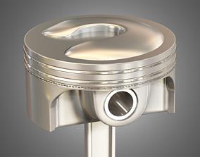 enginepiston 3D model Piston