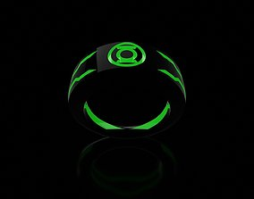 3D printable model Green Lantern Custom Ring