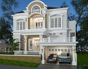 3D model CLASSIC STYLE HOUSE FLORIDA