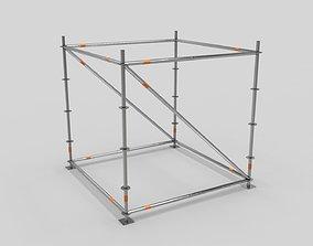 Scaffold Layher Module 3D asset