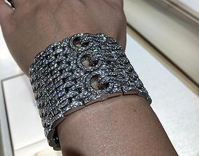 Cartier bracelet 3D printable model jewellery