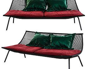 3D RODA LAZE Garden sofa