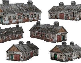 2Models Old house Kolkhoz 01-02 02 VR / AR ready