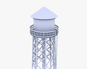 Water Tower 3D asset