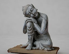 3D model Silver Buddha