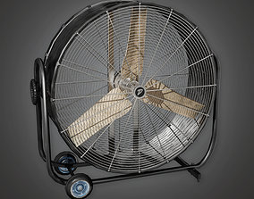 3D asset Industrial Fan HLW - PBR Game Ready