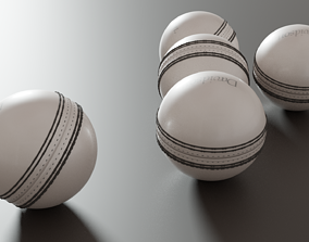 3D asset realtime Cricket ball