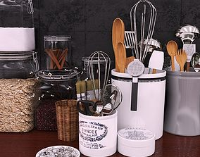Kitchen set kettle 3D