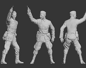 German officer 3D printable model