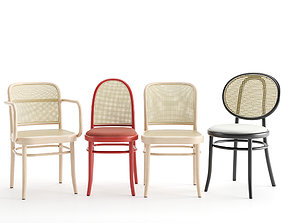 3D model N 811 N 0 and Morris chairs by GEBRUEDER THONET