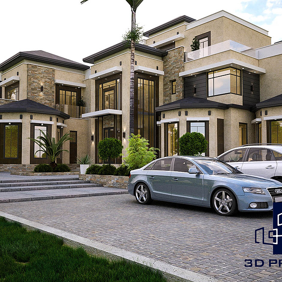 3D Photo Realistic Exterior design