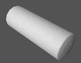 Gauze Bandage Roll 3D model
