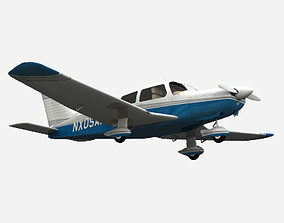 3D model Piper PA-28