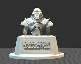 3D print model CYLON bust from Battlestar Galactica