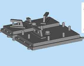 Train Control HO Norfolk Southern PTC antenna printable 1
