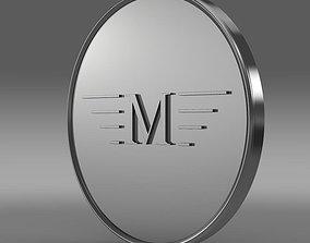 Mansory Logo 3D model