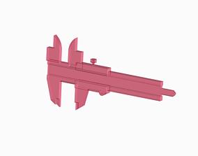 3D model Vernier Caliper Toy