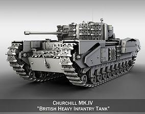 3D Churchill MK IV