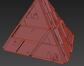 3D model Sci Fi Pyramid Shape Triangle