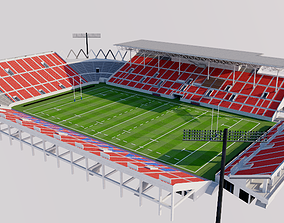 3D Hanazono Rugby Stadium - Japan