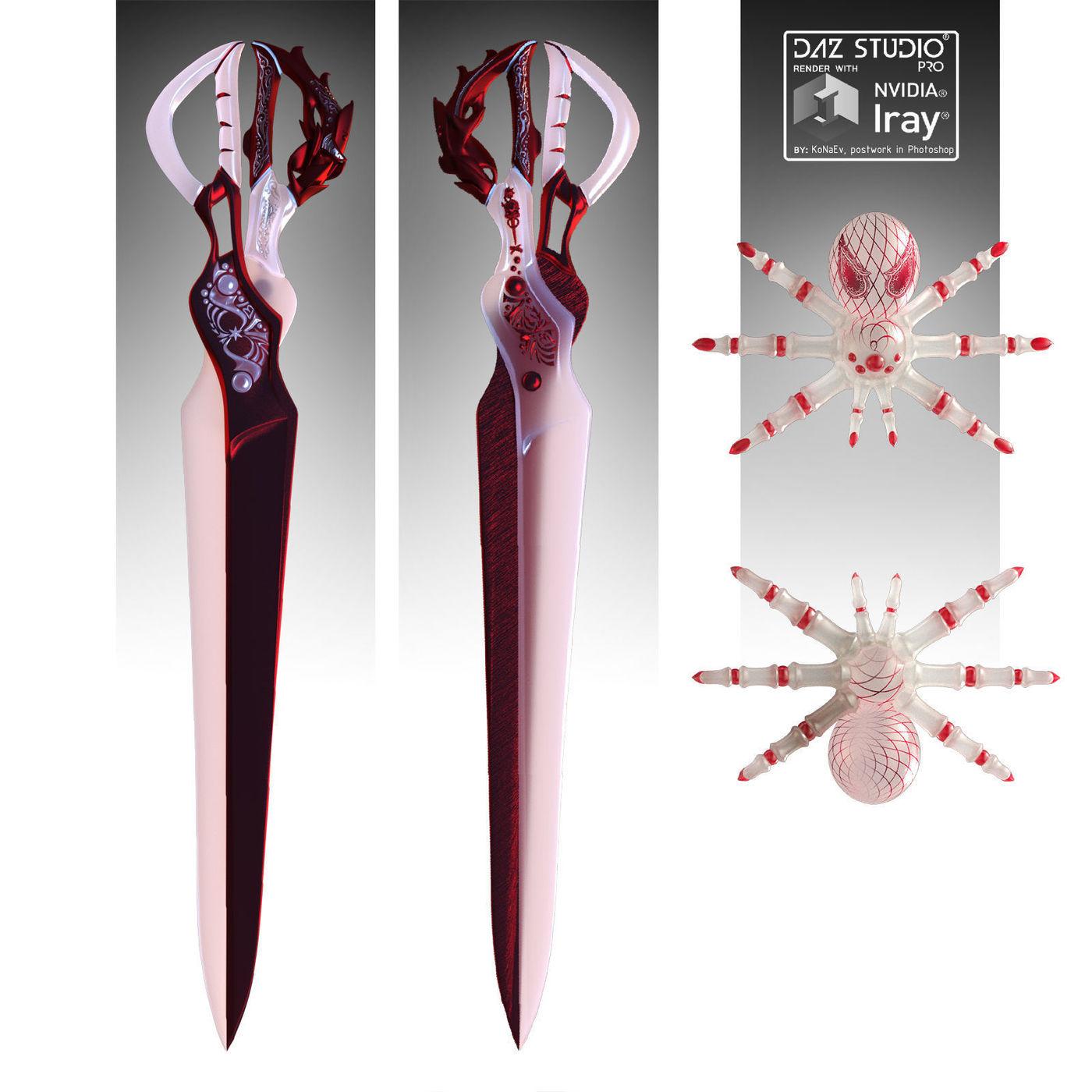 Scissor-balde & Mimic-spider