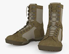 5-11 RECON Desert Boots 3D model