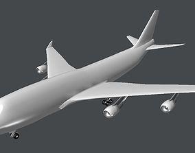 Passenger Plane 3D model