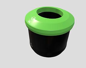 3D model VR / AR ready Recycle bin