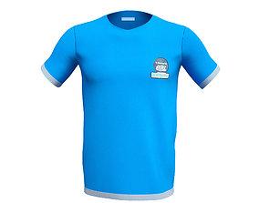 3D model Men T-Shirt