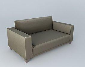 3D NIKEO taupe sofa houses the world
