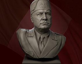 3D print model Benito Mussolini