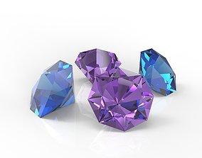 3D asset Diamonds