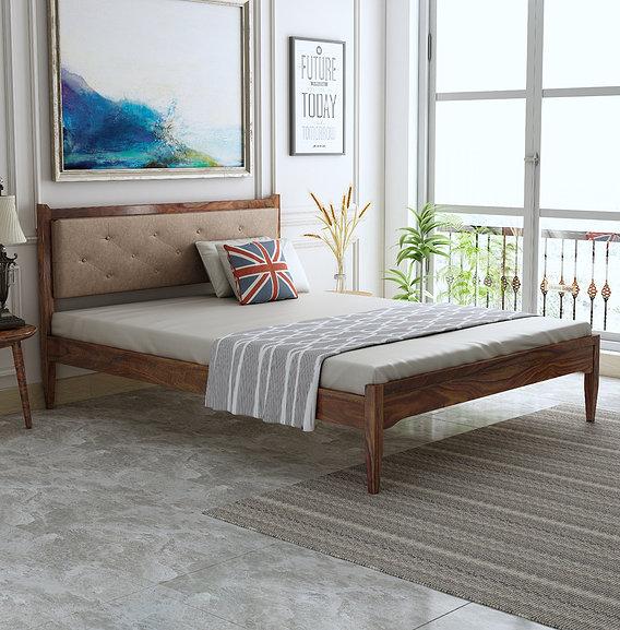 Mili Sheesham Bed 3D Model