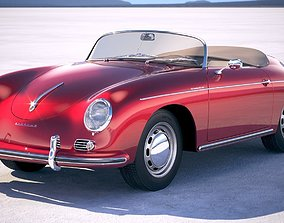 Porsche 356 Speedster 1955 3D