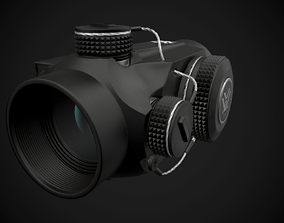 Vortex Optics Sparc II Red Dot Sigh 3D asset