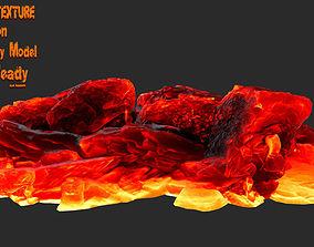 lava rocks 33 3D model