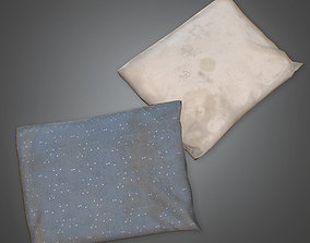 low-poly Pillows - PBR Game Ready 3D