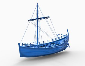 Greek Ancient ship KYRENIA 3D print model