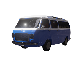 Small Bus 3D model