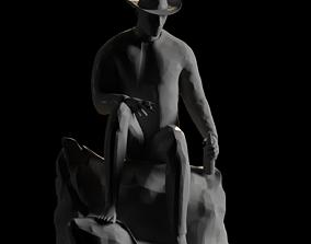 Drunk man 3D printable model