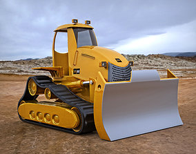 3D model Bulldozer 2012
