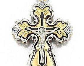 3D printable model Cross Jesus Christ
