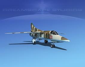 Mig-27 Flogger LP East Germany 3D model