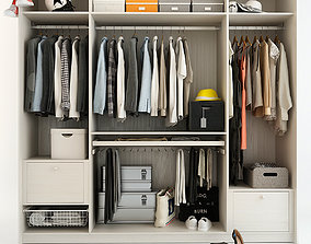 Wardrobe With Things 2 3D