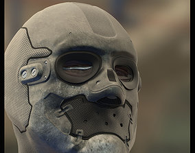 design Futuristic Enforcement Helmet 3D model