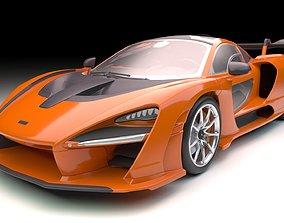 McLaren Senna VRay PBR 3D